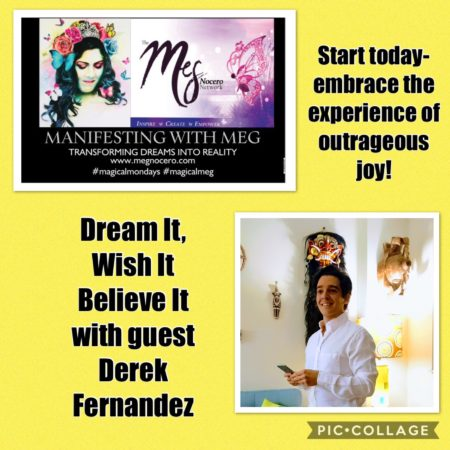 Manifesting with Meg: Episode 8- Finding Outrageous Joy in June -You Tube Link