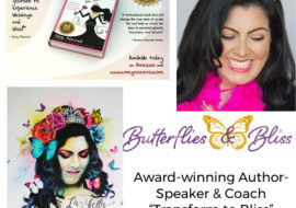 """SPEECHLESS AND BLOWN AWAY""- Countdown to Beautiful Butterfly Book Review-Fall 2021"