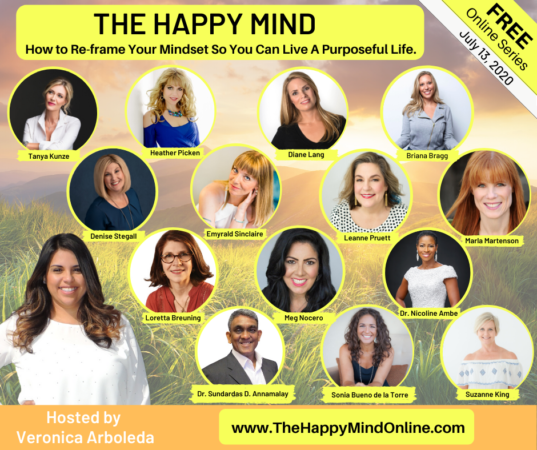 SAVE THE DATE: The Happy Mind Online -Thursday 7.16.20