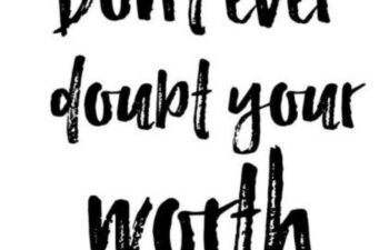 Never Doubt Your Worth: The Art of Sweet Inspiration