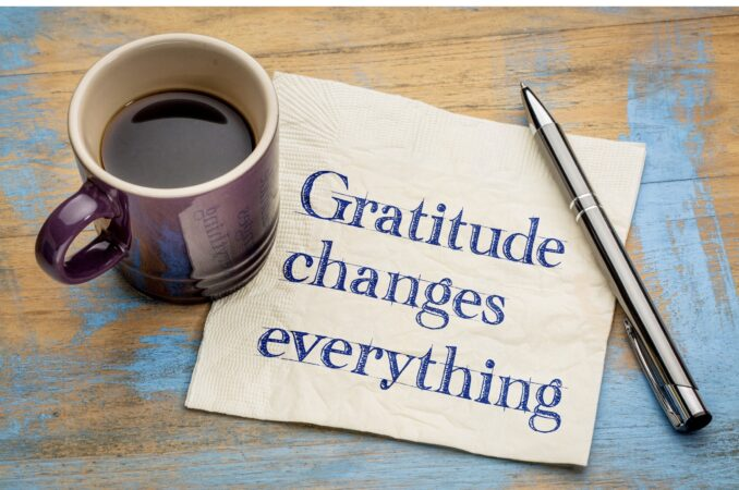 I CHOOSE AN ATTITUDE OF GRATITUDE