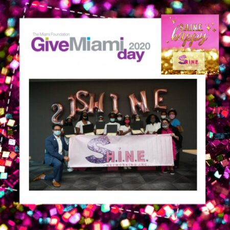 IT'S POWER HOUR 11AM-12NOON! #GIVEMIAMI2020 AND S.H.I.N.E. NETWORKING INC.!