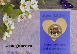 I meet cynicism and divisiveness with love.